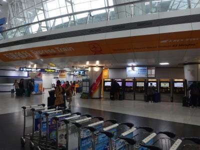 第一ターミナルから空港駅まではすぐ