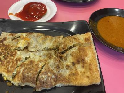 ムルタバを初めて食べました