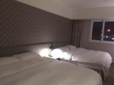 広くて落ち着いたお部屋でした。