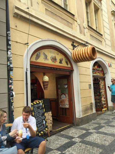 チェコの伝統的スイーツ。アイスクリームやチョコレートと相性抜群