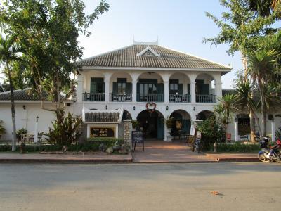 ルアンババーン王家の娘カムパー王女の邸宅を利用したノスタルジックな風格が漂うブティックホテル