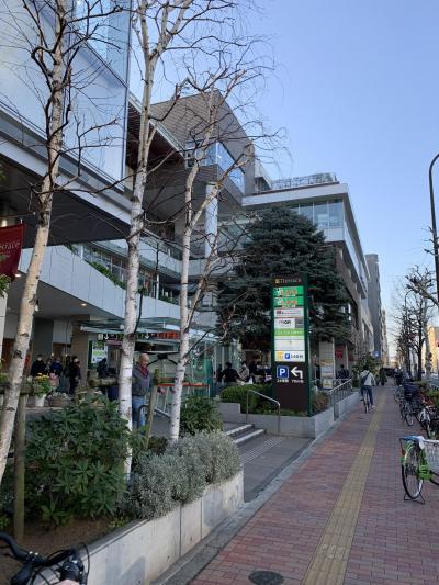 目白通り沿いのショッピングモール