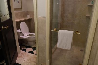 浴室の設備や備品は古びて清潔感が無かったのは残念。