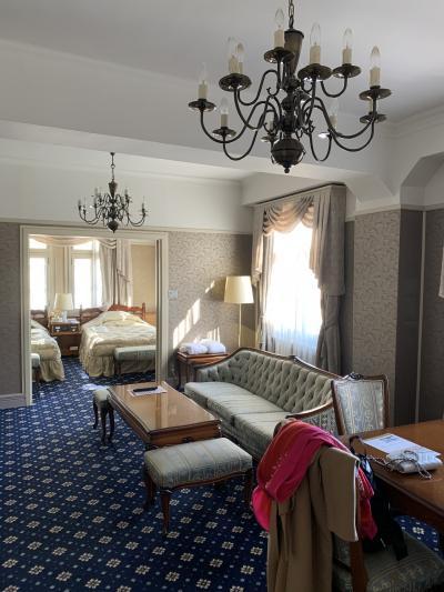歴史を感じる古き良きホテル