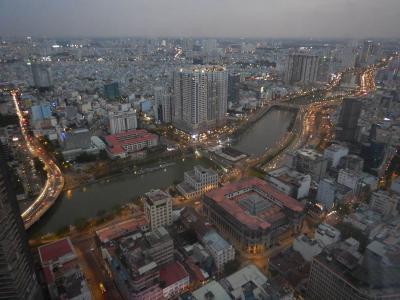 サイゴン川を臨むハイタワー