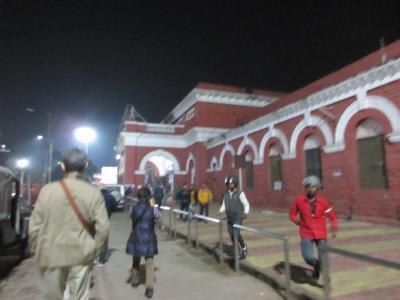 赤煉瓦の駅です