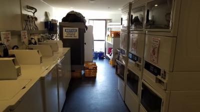 洗濯機や乾燥機もあります