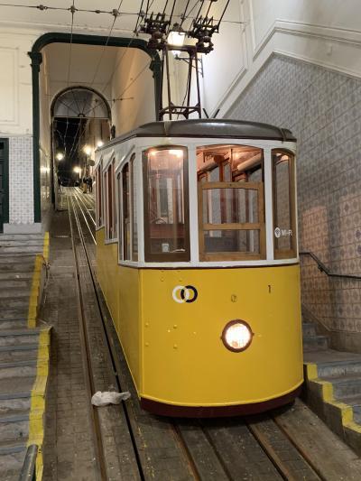 リスボンを代表するケーブルカー