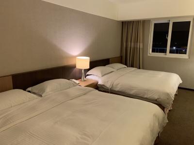 ベッドが3つもありました