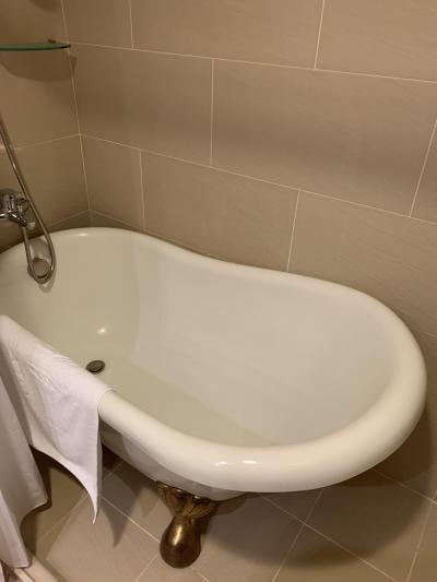 こんなに遅く到着したのでお風呂は入りません