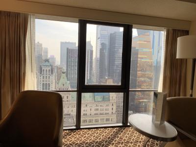 32階からの眺めも◎