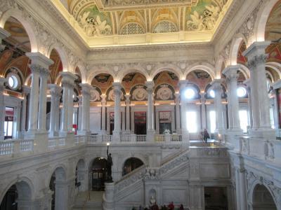 宮殿のような図書館