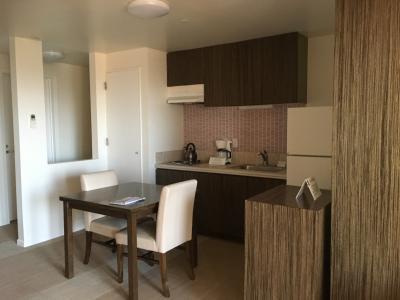 キッチン付きの広い部屋!