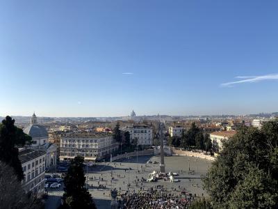 ポポロ広場が見渡せる!