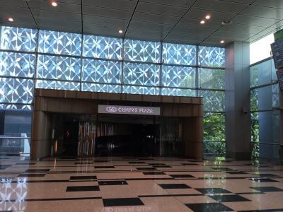 空港ターミナル側入口