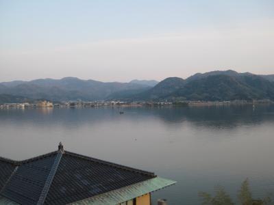 こじんまりとした長閑な湖