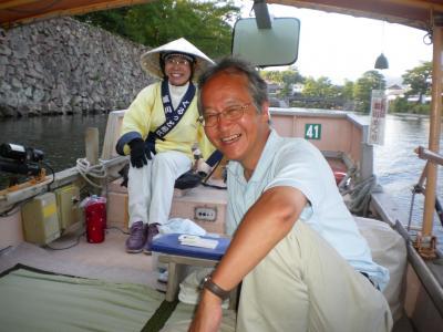 松江に来たら堀川遊覧