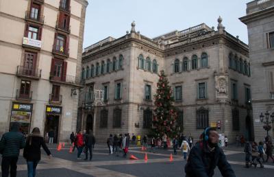 歴史的価値の高い広場