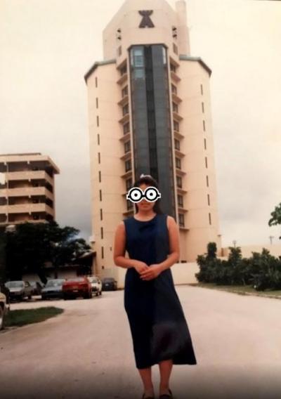 昔 ハファダイビーチホテルだったのよ♪