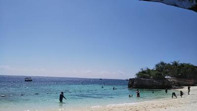 プライベートビーチが綺麗で広い