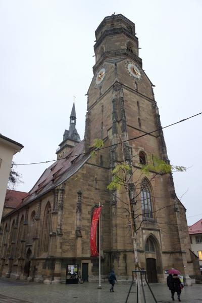 シュトゥットガルト旧市街にある立派な教会