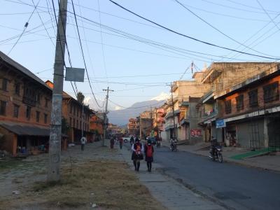 昔の町並み