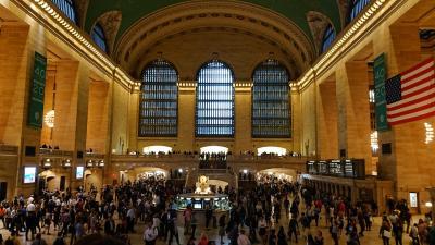 ニューヨークを代表する駅