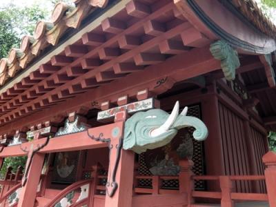 熊野権現の勧請を受けた神社