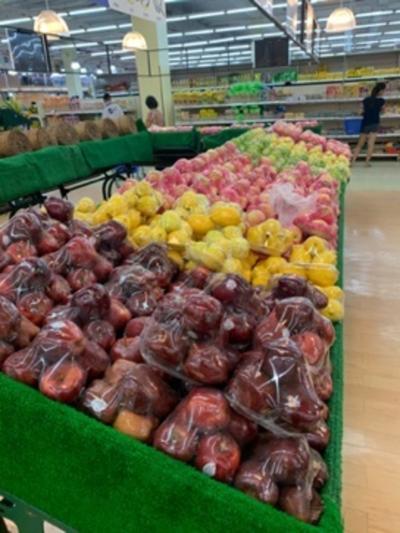 綺麗で広いスーパー