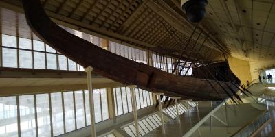 4500年前の木造船!