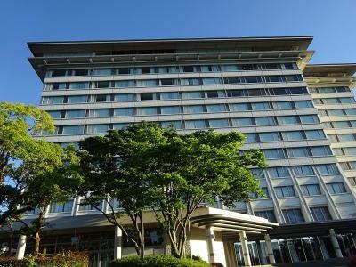 琵琶湖を望むリゾートホテルです