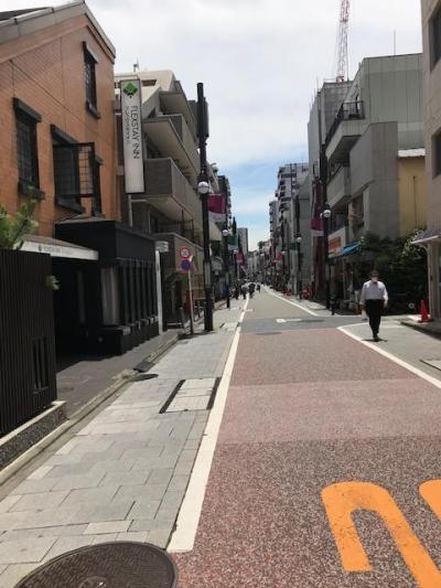 旧東海道の商店街