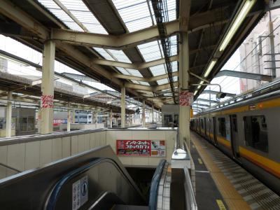 乗り換え便利な駅ですが混んでます。