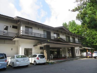 日光山内にある温泉旅館