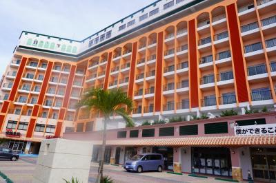 オープンしたてのきれいなホテル