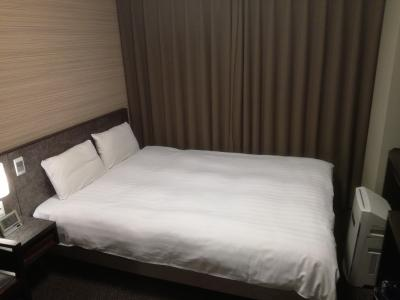 大浴場が気持ちよい。ベッド幅が狭い。
