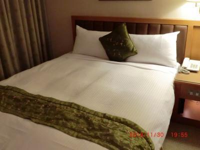 ツインのベッド