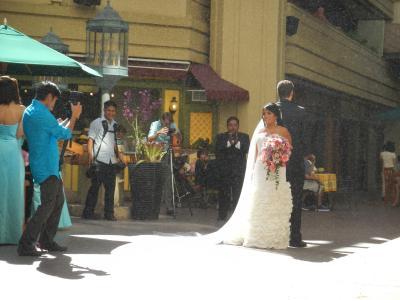 ホテル内の結婚式