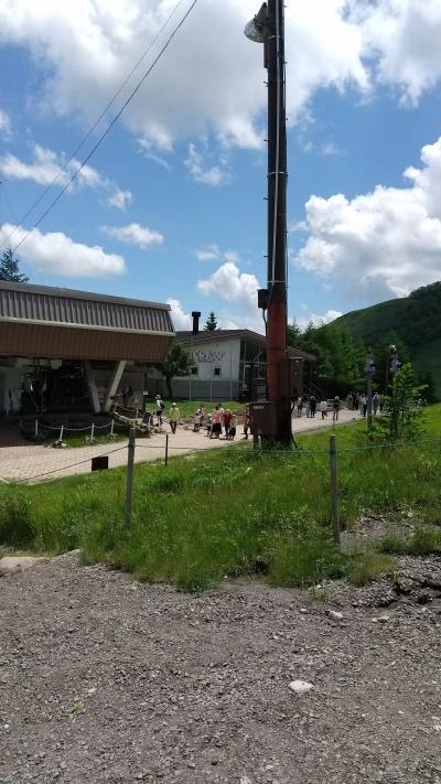 車山高原中腹のレストラン