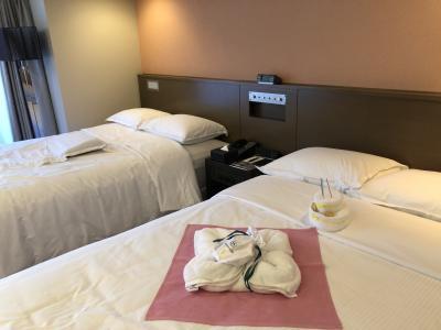 和風スィートルームでホテルを満喫!