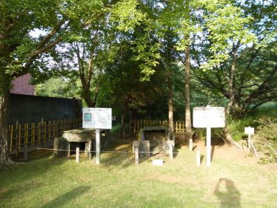 龍角寺古墳群の出土品が多く展示されています