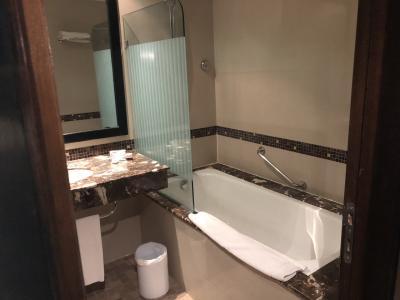 バスルームも綺麗で満足です
