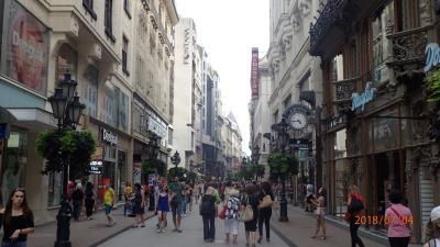 高級店が多い中、ファストフードのお店等も有ります。