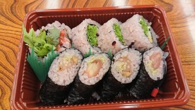 にし川の寿司が美味しくて今度も買ってしまいそう