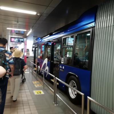 新しいバス路線ベイサイドブルー