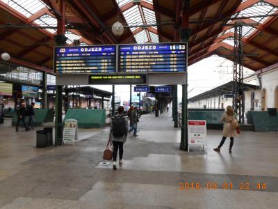 プラハ中央駅から10分弱で