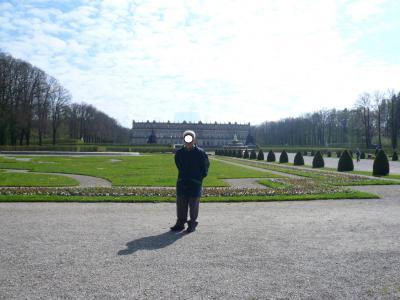 懐かしのプリーン:キームゼー湖の男島に見事なルードヴィヒ二世の宮殿がある。