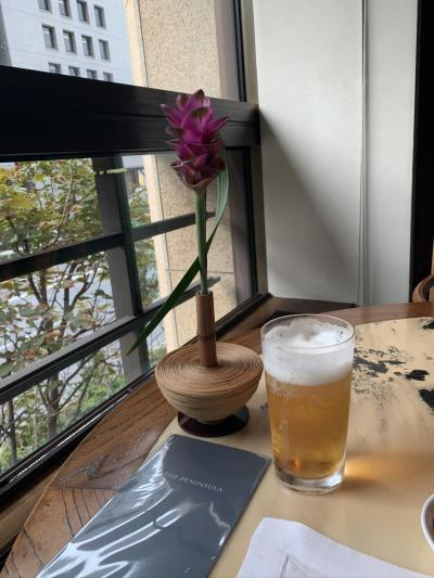 ゆっくりのんびり生ビールと美味しい中華ランチ