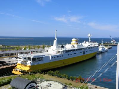 懐かしい青函連絡船と昭和30年から40年代の写真展示が見事だ