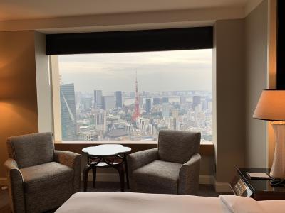 ステイケーションプランで、初『ザ ・リッツ・カールトン東京』体験♪